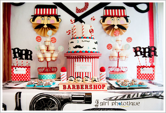 Barbershop Birthday-Cakeblog