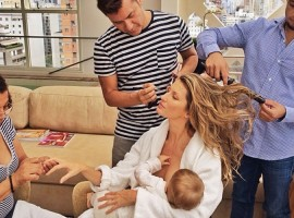 gisele-breastfeeding
